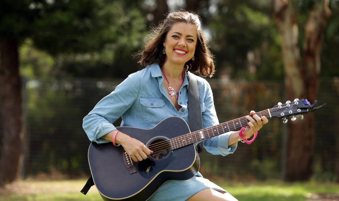 PERFORMER: Country music artist Amber Lawrence is coming to Oberon. Photo: CHRIS LANE