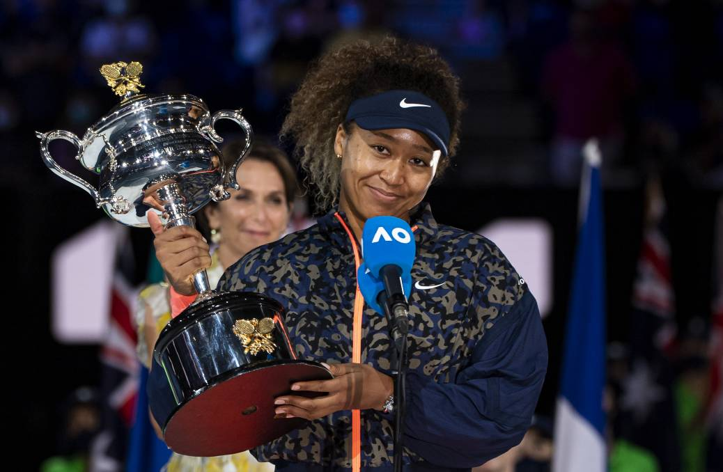 She's currently ranked second, but Naomi Osaka is the best women's player in the world right now. Photo: TPN/Getty Images
