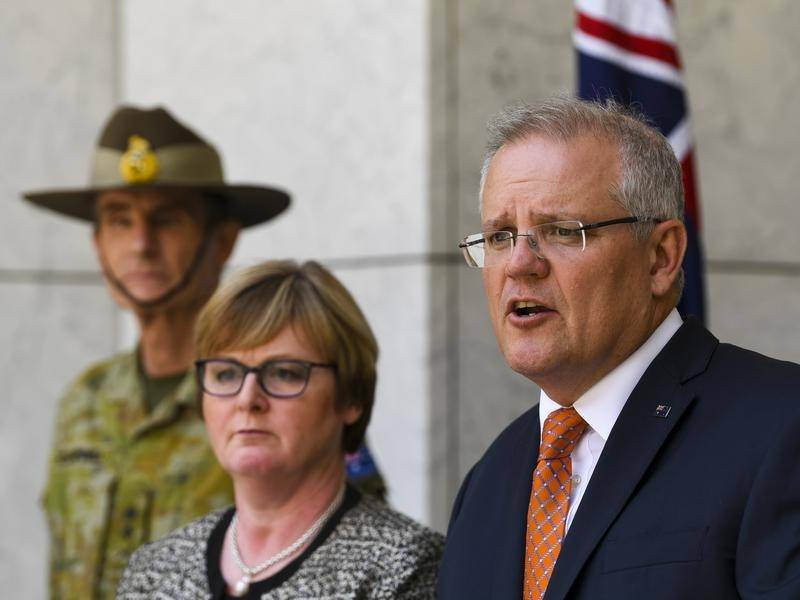 Scott Morrison says Defence will set up a national task force to coordinate its bushfire assistance.
