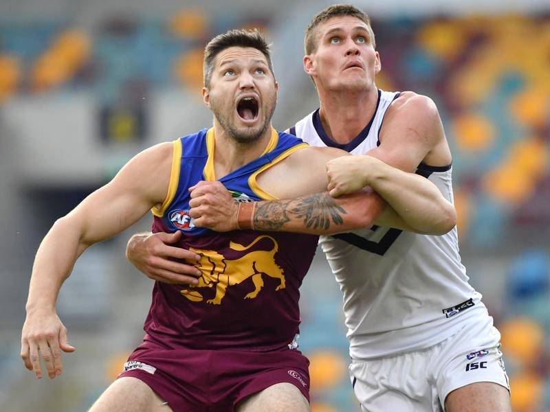 Lions ruckman Stefan Martin could return from a long-term back injury for the clash with Carlton.
